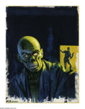 Original Comic Art:Covers, Vic Prezio - Creepy #19 Cover Original Art (Warren, 1967). This terrifying painting, which in-person appears like an unholy ... (Total: 2 Items)