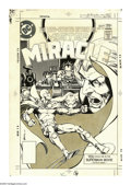 Original Comic Art:Covers, Marshall Rogers - Mister Miracle #19 Cover Original Art (DC, 1977).Having just finished their short, but acclaimed, run wit...
