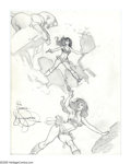 """Original Comic Art:Sketches, Mark Schultz - Hannah Dundee Drawing Original Art (undated). Fans of """"good girl"""" art will want to study closely these lovely..."""