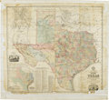 Miscellaneous:Maps, A.R. Roessler's Latest Map of the State of Texas (1874)...