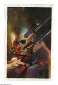Original Comic Art:Covers, Bill Sienkiewicz - Fury #1 Cover Original Art (Marvel, 2001). NickFury has someone dead-to-rights in his crosshairs. Ol' Ni...