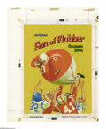 "Original Comic Art:Covers, ""Son of Flubber"" Coloring Book Cover Original Art (Whitman,1963)...."