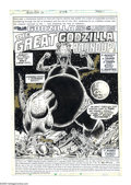 "Original Comic Art:Panel Pages, Herb Trimpe and Dan Green - Godzilla #16 Complete 17-page Story""The Great Godzilla Roundup"" Original Art (Marvel, 1978). Wh...(Total: 17 Items)"