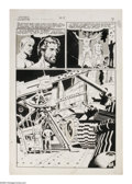 "Original Comic Art:Panel Pages, Wally Wood - Incredible Science Fiction #33, page 7 Original Art(EC, 1956). From the post-apocalyptic story ""Big Moment,"" h..."