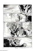 Original Comic Art:Panel Pages, Bernie Wrightson and Jimmy Palmiotti - Nightmare Theater #1, page 6 and 7 Original Art (Chaos! Comics, 1997). Prestigious in... (Total: 2 Items)