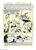 Original Comic Art:Splash Pages, Mike Zeck and John Beatty - Marvel Super Heroes Secret Wars #8,Splash page 1 Original Art (Marvel, 1984). Grim-visaged, ele...