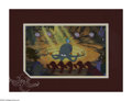 "Original Comic Art:Miscellaneous, The Little Mermaid ""Under the Sea"" Production Cel (The Walt DisneyCompany, 1989). This cel set-up from Disney's animated fe..."