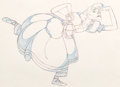 Animation Art:Production Drawing, Mother Goose Goes Hollywood Katharine Hepburn AnimationDrawing (Walt Disney, 1938). . ...
