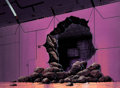 Animation Art:Painted cel background, Super Friends Painted Production Background (Hanna-Barbera,1973-86). ...