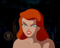 Animation Art:Production Cel, Batman: The Animated Series Poison Ivy Production Cel(Warner Brothers, 1992)....