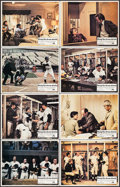 """Movie Posters:Sports, Bang the Drum Slowly (Paramount, 1973). Lobby Card Set of 8 (11"""" X 14""""). Sports.. ... (Total: 8 Items)"""