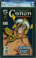 Modern Age (1980-Present):Superhero, Conan the Barbarian #270 (Marvel, 1993) CGC NM 9.4 White pages.