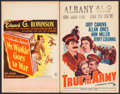 """Movie Posters:Comedy, Mr. Winkle Goes to War & Other Lot (Columbia, 1944). Window Cards (2) (14"""" X 22""""). Comedy.. ... (Total: 2 Items)"""