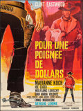 """Movie Posters:Western, A Fistful of Dollars (Europa Film S.A., R-1970s). Trimmed French Grande (45.5"""" X 61""""). Western.. ..."""