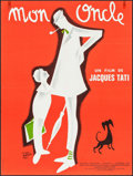 """Movie Posters:Foreign, Mon Oncle (Parafrance, R-1970s). French Affiche (22.75."""" X 30.25""""). Foreign.. ..."""