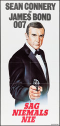 """Movie Posters:James Bond, Never Say Never Again & Other Lot (Neue Constantin Film, 1984). German Door Panel (33"""" X 69"""") & French Grande (47"""" X 62.5"""").... (Total: 2 Items)"""