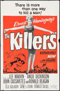 """Movie Posters:Crime, The Killers (Universal, 1964). Autographed One Sheet (27"""" X 41"""").Crime.. ..."""