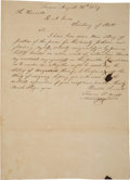 Autographs:Statesmen, [Old Three Hundred]. Francis F. Wells Autograph Letter Signed. ...