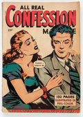 Golden Age (1938-1955):Romance, Fox Giants: All Real Confession (Fox Features Syndicate, 1950)Condition: VG-....