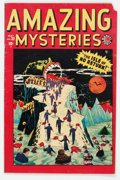 Golden Age (1938-1955):Horror, Amazing Mysteries #32 (Marvel, 1949) Condition: GD/VG....