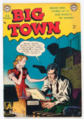 Golden Age (1938-1955):Crime, Big Town #1 (DC, 1951) Condition: FN/VF....
