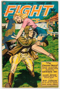 Golden Age (1938-1955):War, Fight Comics #38 (Fiction House, 1945) Condition: FN....