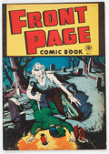 Golden Age (1938-1955):Horror, Front Page Comic Book #1 (Harvey, 1945) Condition: FN....