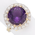 Estate Jewelry:Rings, Amethyst, Diamond, Gold Rings. . ...