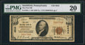 National Bank Notes:Pennsylvania, Smithfield, PA - $10 1929 Ty. 1 The First NB Ch. # 6642. ...