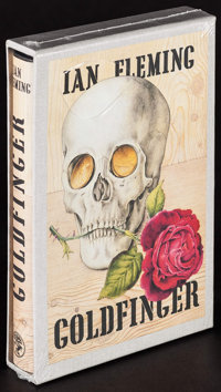 Goldfinger by Ian Fleming & Other Lot (Jonathan Cape/First Edition Library, 1981). Unopened British Facsimile Ha...