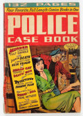 Golden Age (1938-1955):Crime, Giant Comics Edition #5 Police Case Book (St. John, 1949) Condition: GD....