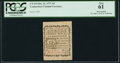 Colonial Notes:Connecticut, Connecticut October 11, 1777 3d PCGS New 61.. ...