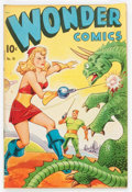 Golden Age (1938-1955):Science Fiction, Wonder Comics #18 (Better Publications, 1948) Condition: FN-....