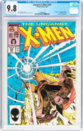 Modern Age (1980-Present):Superhero, X-Men #221 (Marvel, 1987) CGC NM/MT 9.8 Off-white to whitepages....