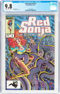 Modern Age (1980-Present):Miscellaneous, Red Sonja V3#5 (Marvel, 1985) CGC NM/MT 9.8 Off-white to white pages....