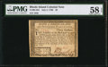 Colonial Notes:Rhode Island, Rhode Island July 2, 1780 $3 PMG Choice About Unc 58 EPQ.. ...