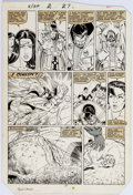 Original Comic Art:Panel Pages, Paul Smith and Bob Wiacek X-Men/Alpha Flight #2 Page 27Original Art (Marvel, 1985)....