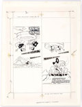 Memorabilia:Miscellaneous, March of Comics #471 and #468 Cover Production Art (Western Publishing, 1980)....