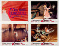 Memorabilia:Disney, Cinderella Lobby Card Set of 8 (Walt Disney, 1957).... (Total: 9 )