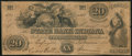 Obsoletes By State:Indiana, Lafayette, IN- State Bank of Indiana, Lafayette Branch Counterfeit $20 Aug. 1, 1848. ...