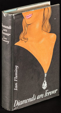 Diamonds are Forever by Ian Fleming & Other Lot (The Thriller Book Club, 1956). First Edition British Hardcover Book...