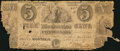 Canadian Currency: , Montreal, LC- Mechanics Bank $5 May 1, 1837 Ch. # 435-10-04. ...