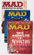 Magazines:Mad, MAD Magazine Group of 25 (EC, 1960-65) Condition: Average GD....(Total: 25 Comic Books)
