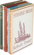 Books:Literature 1900-up, Robert Frost. Group of Six Henry Holt Books. New York: [1923-1947].First editions, two signed or inscribed.... (Total: 6 Items)