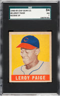 Baseball Cards:Singles (1940-1949), 1948 Leaf Satchel Paige #8 SGC 84 NM 7....