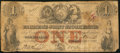 Canadian Currency: , Toronto, UC- Farmer's Joint Stock Banking Company $1 Feb. 1, 1849Ch. # 280-14-04-02. ...