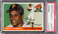 Baseball Cards:Singles (1950-1959), 1955 Topps Roberto Clemente #164 Rookie PSA NM-MT 8....