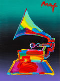 Fine Art - Painting, American:Contemporary   (1950 to present)  , Peter Max (American, b. 1937). Grammy 1989, Ver. I #20,2011. Acrylic on canvas. 16 x 12 inches (40.6 x 30.5 cm). Signed...