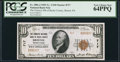 National Bank Notes:Pennsylvania, Bristol, PA - $10 1929 Ty. 2 The Farmers NB of Bucks County Ch. # 717. ...