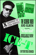 "Movie Posters:Rock and Roll, Ice-T: The Iceberg (Sire Records, 1989). Album Posters (20)Identical (23"" X 34.5""). Rock and Roll.. ... (Total: 20 Items)"